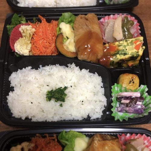 14種類・6件の農家さんの小金井野菜を使ったお弁当🍱