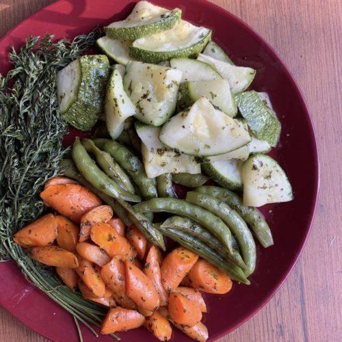 旬野菜のグリル