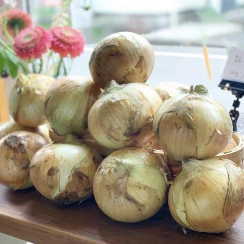 大きな新玉ねぎで作ったほぼ野菜のソースが人気で嬉しいです☺️