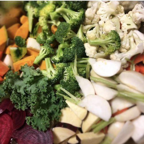 小金井産の野菜が10種類‼️も入った温野菜♨️